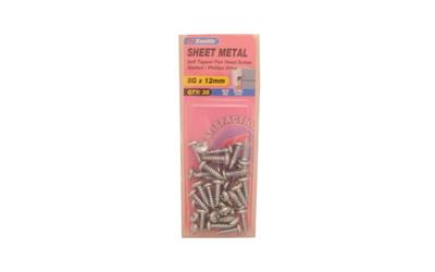 Zenith-Sheet-Metal-Screws-8Gx12mm-Zinc-Plated-35-Pack...