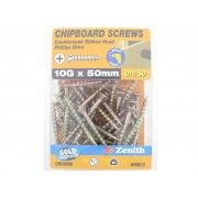 Chipboard-Screws-10Gx50mm-GP-CS-Pack-of-50...