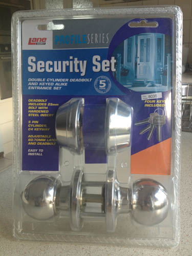 Lane-Security-Entry-Door-Handle-Set-With-Double-Dead-Bolt...