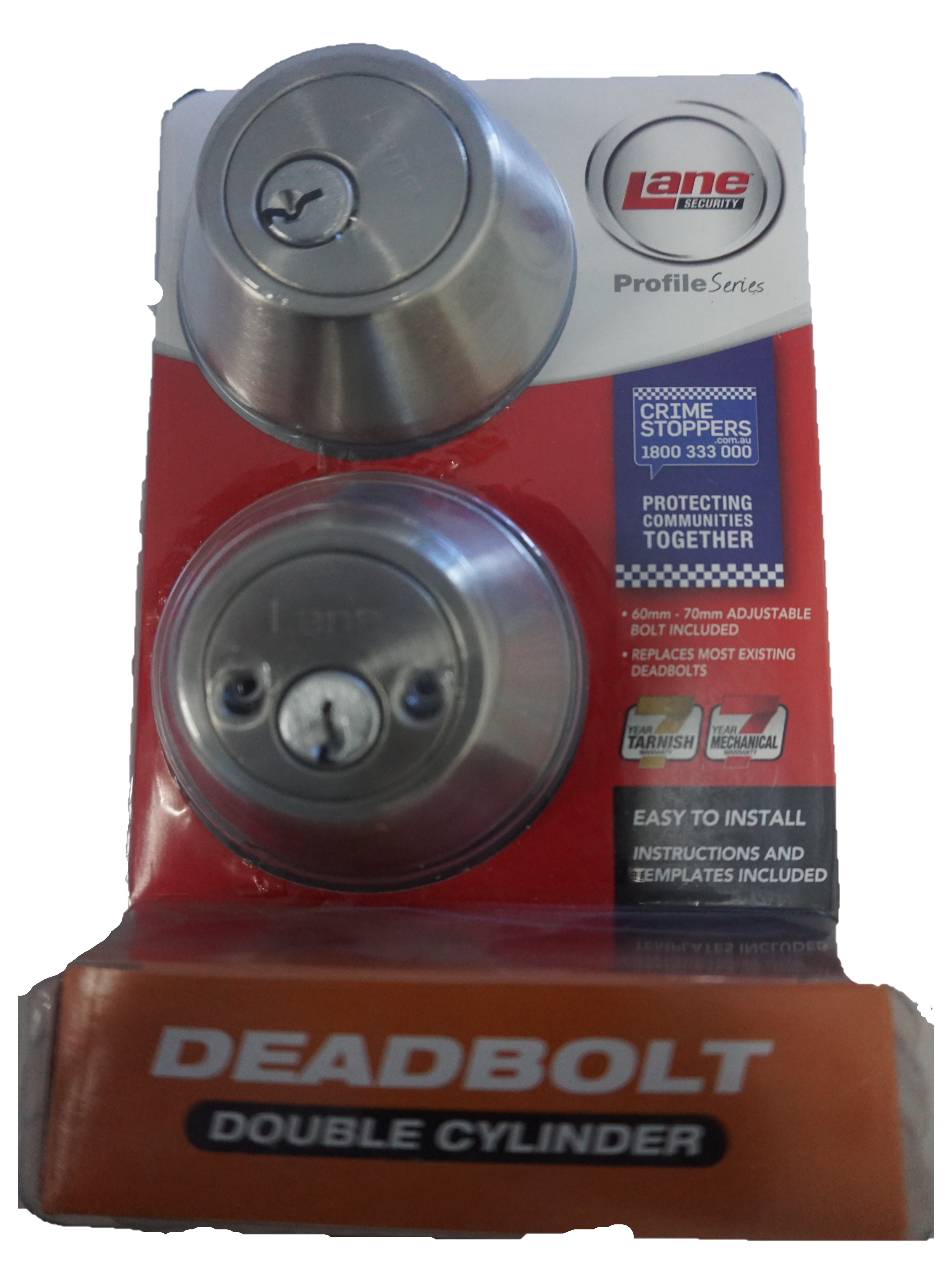 Lane Security DeadBolt double cylinder...