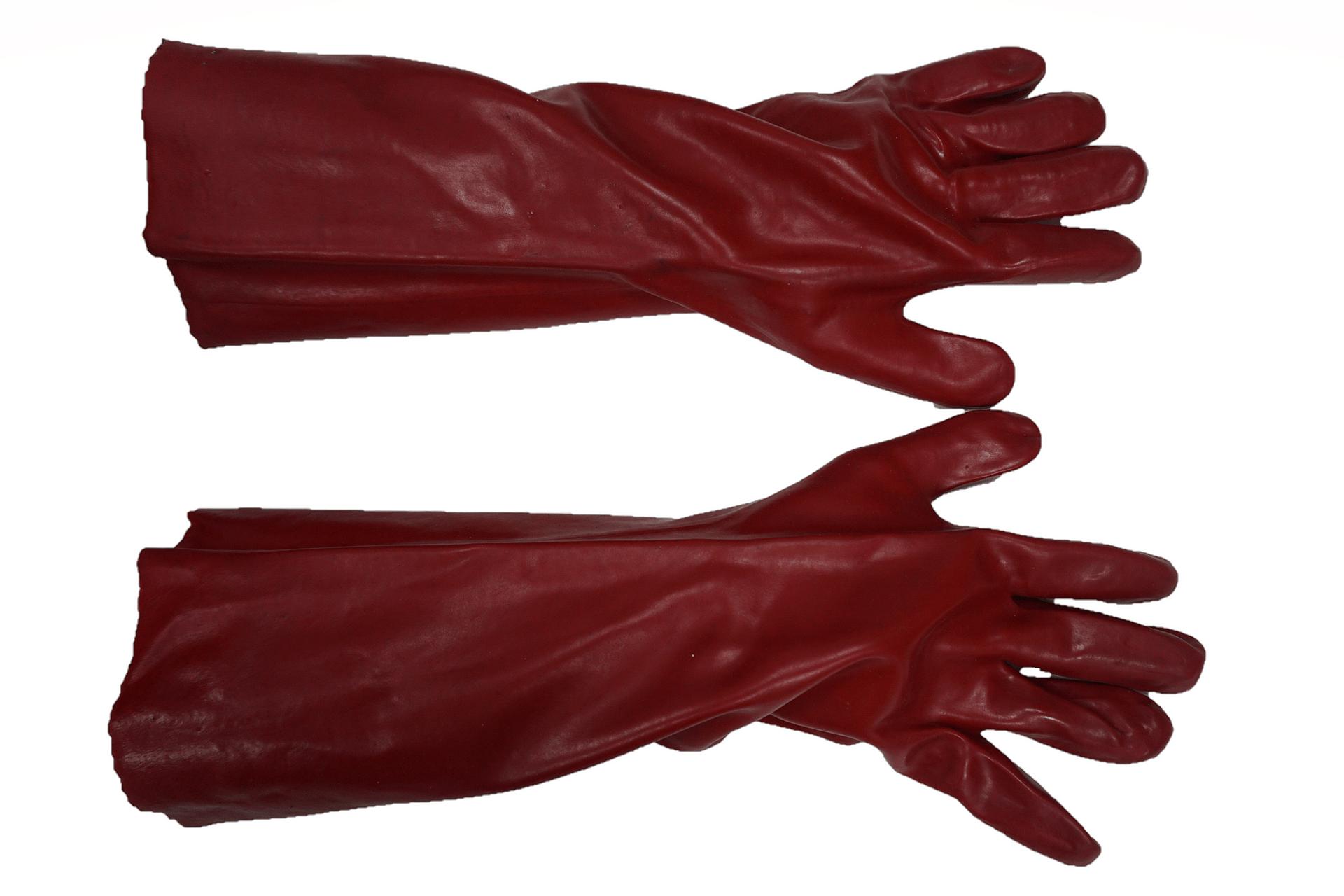 PVC Gloves 45 cm...