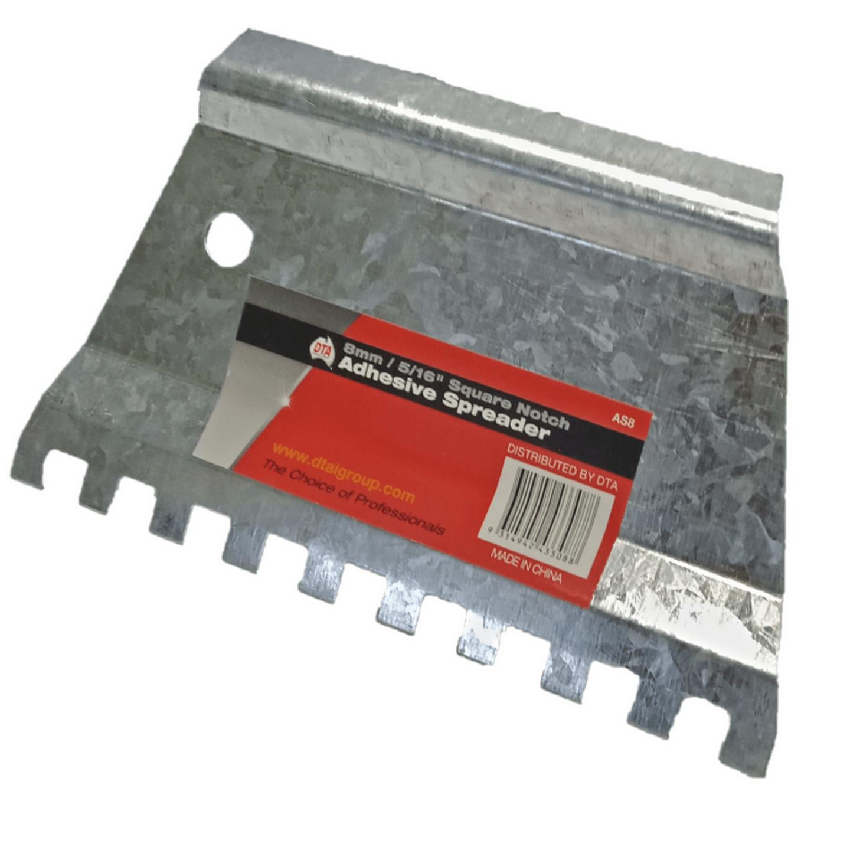 Galvanised adhesive spreader 8mm...