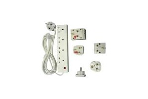 Adaptor Plugs, Powerboards  & Extension Leads